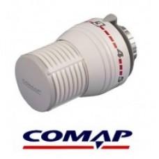 Кран радіаторний 1/2  прямий з термостатичною головкою  COMAP